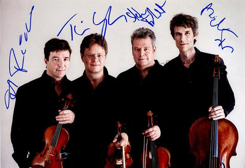 Vogler String Quartet - Larger Size Signed Photo