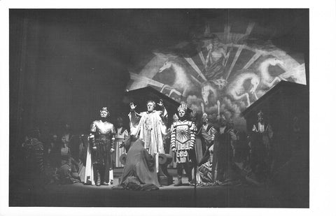Kmentt, Waldemar - Schock, Rudolf - Bohme, Kurt - Triple Signed Photo in Idomeneo
