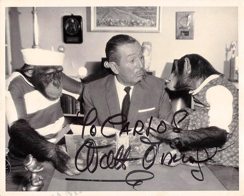 Disney, Walt - Signed Photo