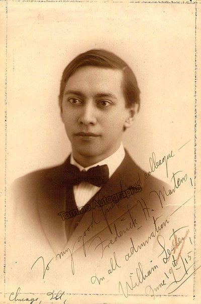 Lester, William - Signed  Photo Young in 1915