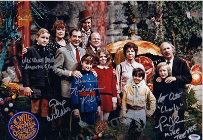 Willy Wonka and The Chocolate Factory - Large Signed Photo by All
