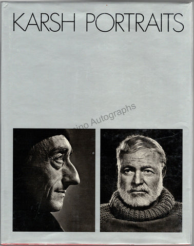 "Karsh, Yousuf - Signed Book ""Karsh Portraits"""