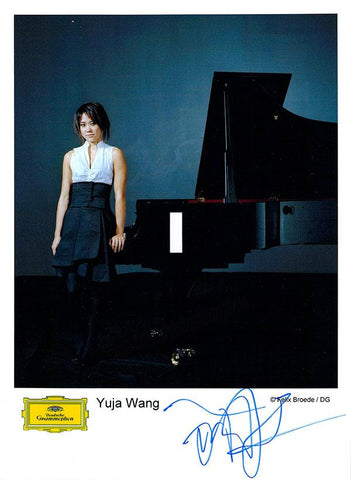 Wang, Yuja - Signed Photo