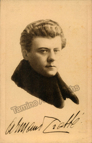 Crabbe, Armand - Signed Photo Postcard