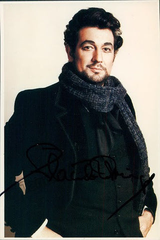 DOMINGO, Placido - TaminoAutographs.com