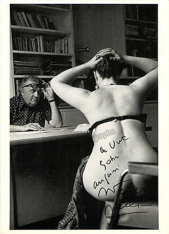 Fellini, Federico - Signed Photo - TaminoAutographs.com