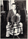 Fournier, Pierre - Signed Photo with Cello