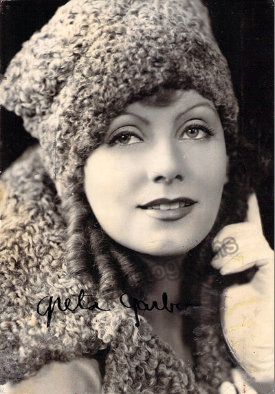 Garbo, Greta - Signed Photo