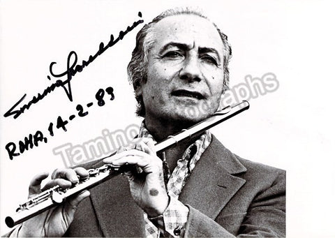 Gazzelloni, Severino - Signed Photo