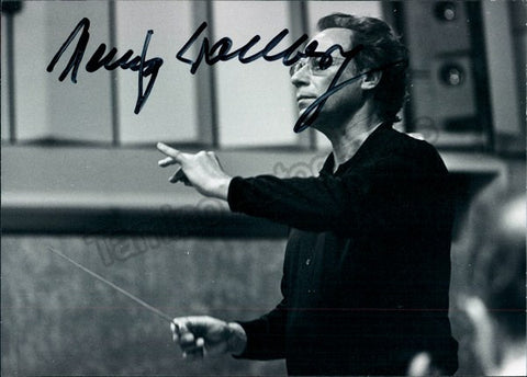 German Conductors - Lot of 5 Autographs - TaminoAutographs.com