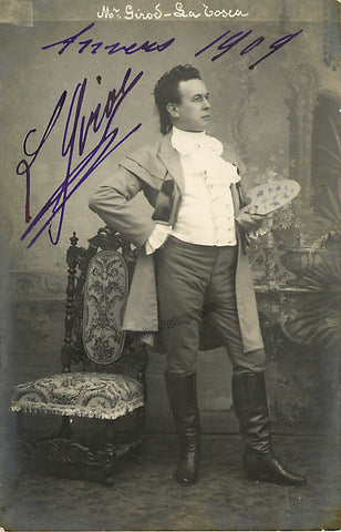 GIROD, Louis - TaminoAutographs.com