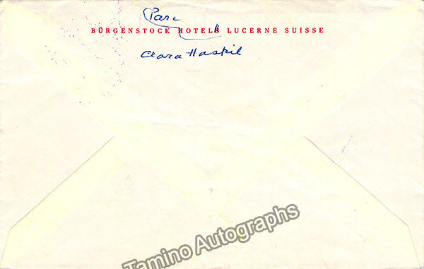 Haskill, Clara - Lot of 3 Autograph Letters Signed - TaminoAutographs.com