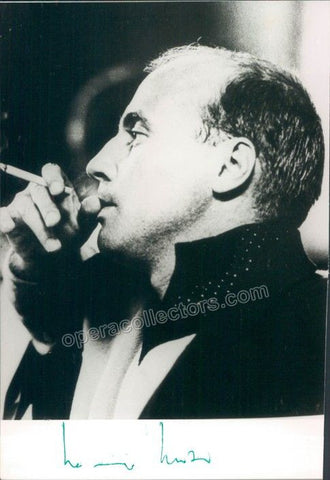 Henze, Hans Werner - Signed Photo - Tamino Autographs