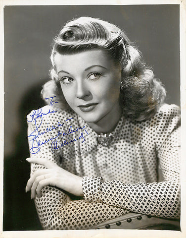 Hilliard, Harriet - Signed Photo - TaminoAutographs.com
