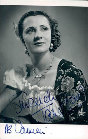 HOWE, Janet - Tamino Autographs