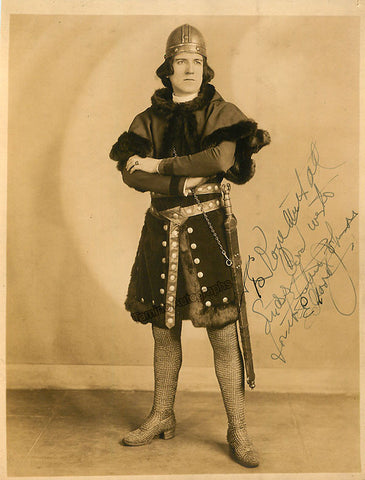 Johnson, Edward - Signed Photo in KIng Henchman - TaminoAutographs.com