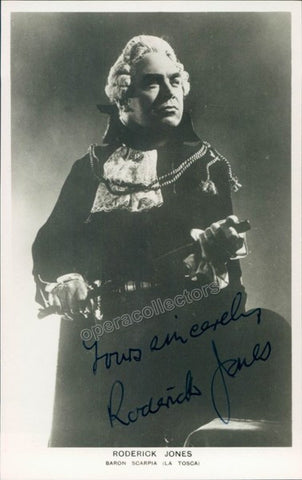 JONES, Roderick - TaminoAutographs.com