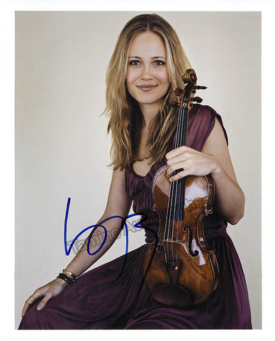 Josefowicz, Leila - Signed photo - TaminoAutographs.com