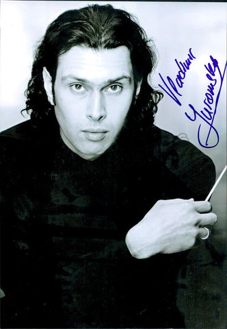 Jurowski, Vladimir - Large Signed Photo - Tamino Autographs