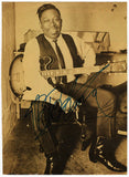 King, Riley B. (also known as B.B. King) - Signed Photo
