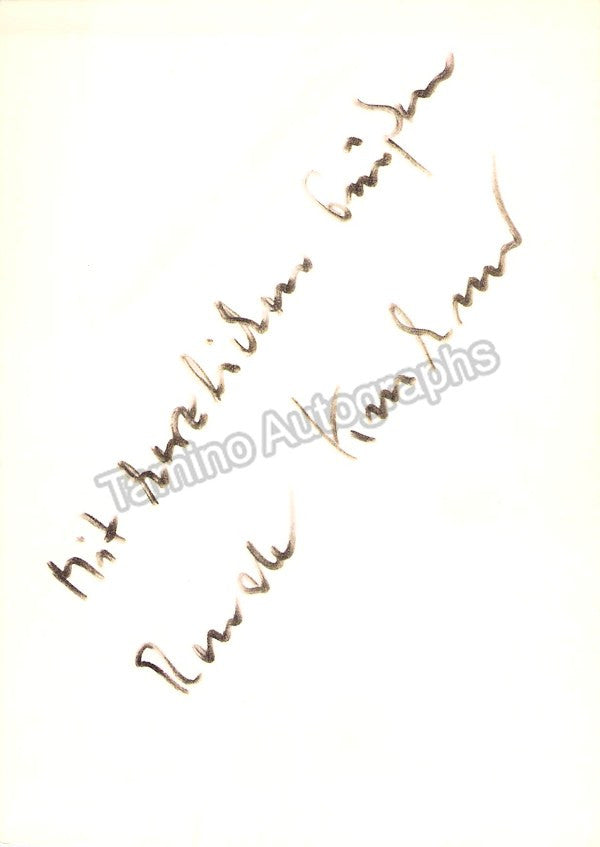 KRAHMER, Renate - TaminoAutographs.com