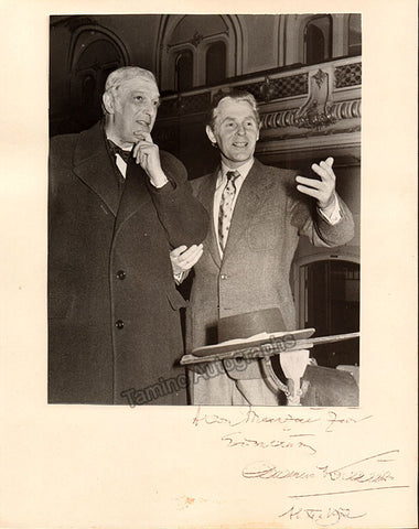 Krauss, Clemens - Large Signed Photo - TaminoAutographs.com
