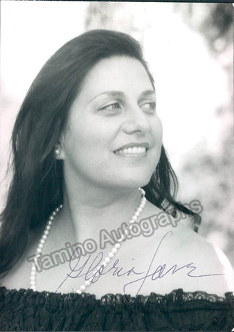 LANE, Gloria - TaminoAutographs.com