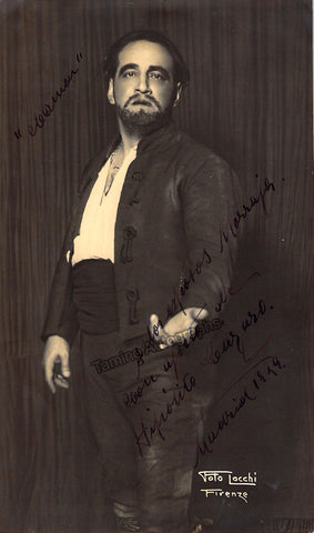 Lazaro, Hipolito - Signed photo in Carmen