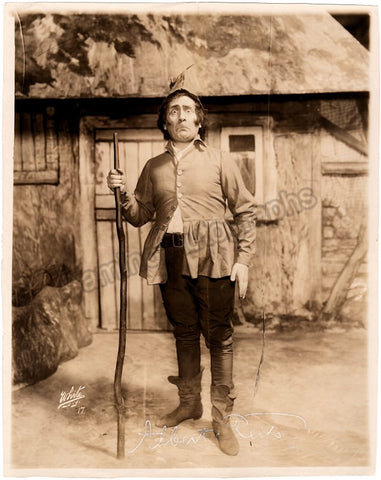 Reiss, Albert - Signed Photo in Konigskinder World Premiere 1910 - TaminoAutographs.com