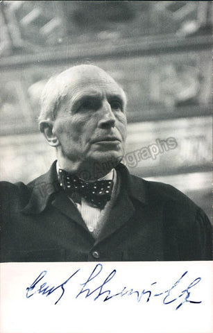 Schuricht, Carl - Signed Photo