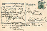 Senius, Felix - Signed Postcard