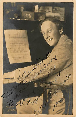 STEIER, Harry - TaminoAutographs.com
