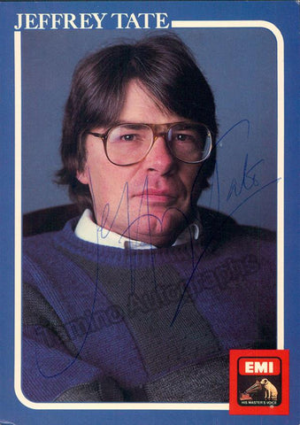 Tate, Jeffrey - Signed Photo