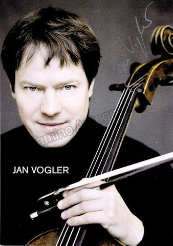 Vogler, Jan - Signed Promo Photo