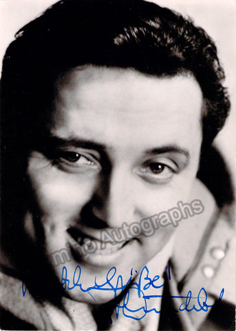 Wunderlich, Fritz - Signed promo photo - TaminoAutographs.com