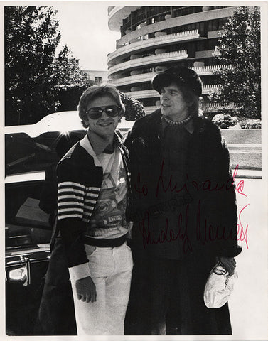 Nureyev, Rudolf - Large Signed Photo with Baryshnikov - TaminoAutographs.com