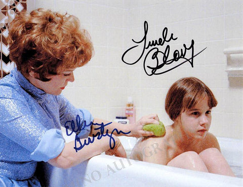 "Blair, Linda - Burstyn, Ellen - Double Signed Photograph in ""The Exorcist"""
