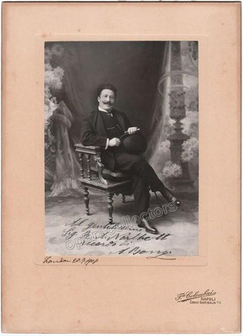 Bonci, Alessandro - Extra Large Signed Cabinet Photo 1908