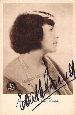 Lorand, Edith - Signed Photo