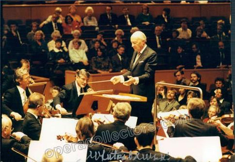 Lutoslawski, Witold - Signed photo conducting