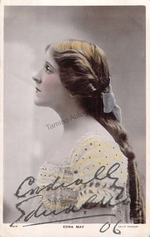 May, Edna - Signed Photograph 1906