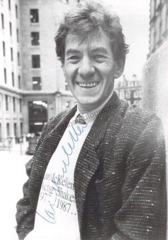 McKellen, Ian - Signed Photograph
