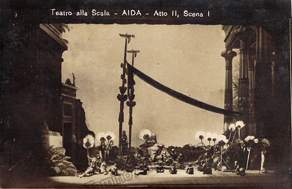 La Scala - Lot of 98 Unsigned Scene Photo Postcards 1920s - Tamino Autographs  - 2