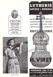 Neveu, Ginette - Signed Program Photo 1947