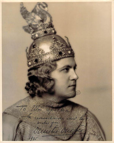 Onofrei, Dimitri - Signed Photo in Lohengrin