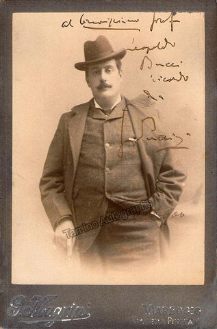 Puccini, Giacomo - Signed Photo 1906