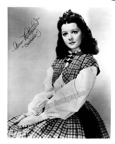 Rutherford, Ann - Signed Photo
