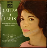 Callas, Maria - Signed LP record Maria Callas A Paris - TaminoAutographs.com