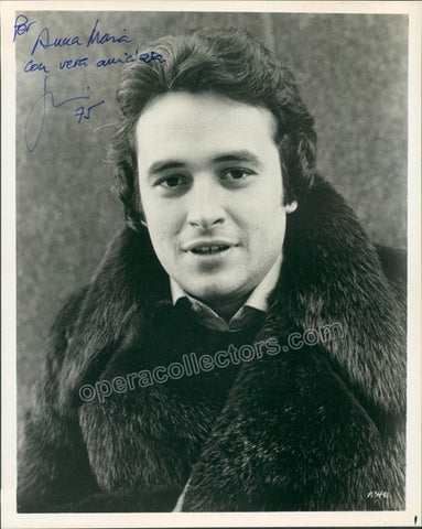 Carreras, Jose - Signed Photo 1975 - TaminoAutographs.com