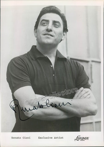 Cioni, Renato - Signed Photo as himself - TaminoAutographs.com